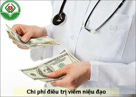 chi phí điều trị viêm niệu đao