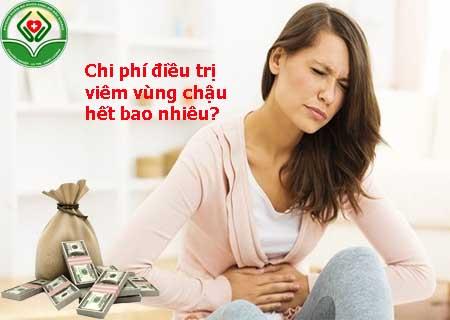 chi phí điều trị viêm vùng chậu