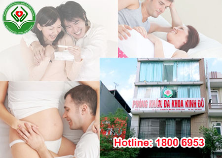 Phòng khám Kinh Đô chữa hiệu quả vô sinh nữ