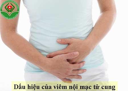 dấu hiệu của viêm nội mạc tử cung