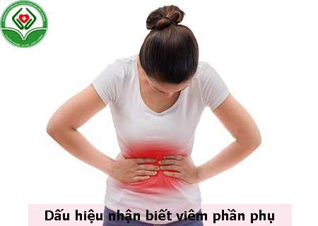 dấu hiệu nhận biết viêm phần phụ