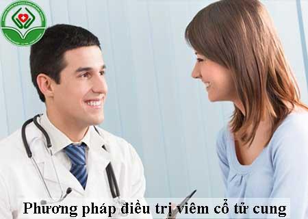 phương pháp điều trị viêm cổ tử cung