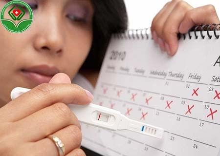 Uống thuốc tránh thai bị trế kinh