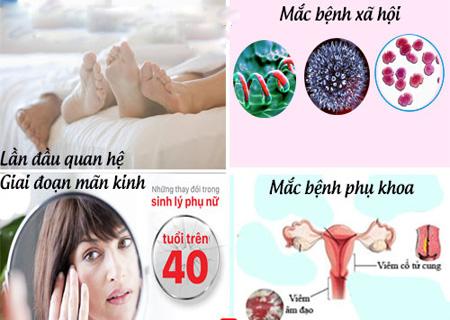 Quan hệ ra máu ở nữ giới do nhiều nguyên nhân khác nhau